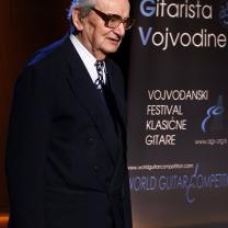 Dr Jovan Jovicic Vojvodina Guitar fest Novi sad Serbia