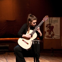 Jelica Mijanovic World Guitar Competition Novi Sad Serbia