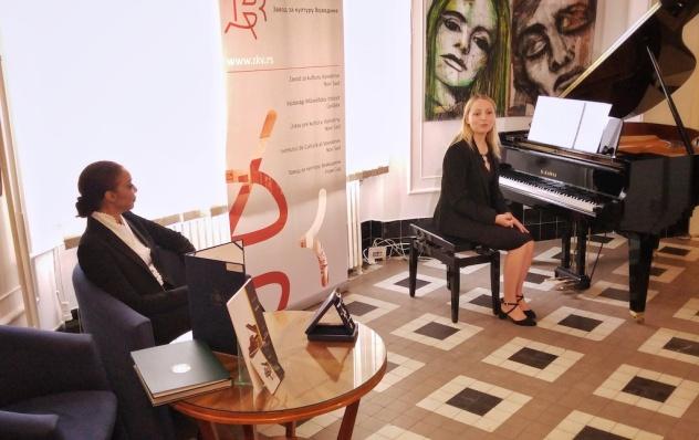 Julija Bal promocija zbirke etida H.V. Lobos, Zavod za Kulturu Vojvodine Oktobar 2018