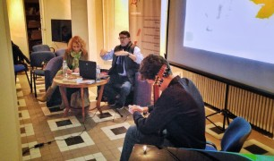 Carlos Salcedo, predavanje o Agustinu Bariosu, Novembar 2018, Novi Sad