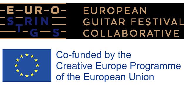 logo eurostrings ZVANICAN sa Creative EU
